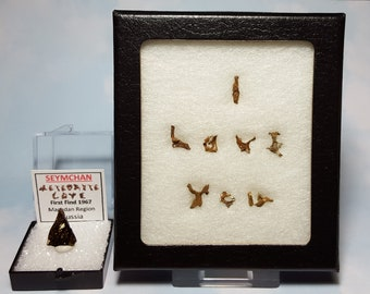 Seymchan I LOVE YOU Meteorite Fragment Writing Display Genuine Outer Space Rocks First Find 1967 Russia Beyond Rare Souvenir Gift Sale