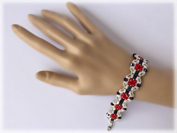 TommyPhrase bracelet beading TUTORIAL