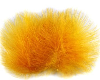 Marabou Feathers Gold 12114