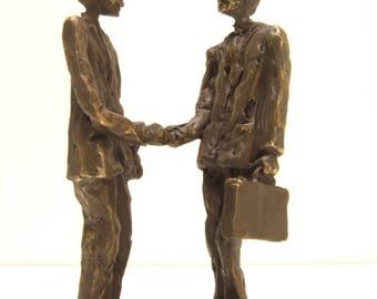 "bronze sculpture ' representative ""height 16 cm"