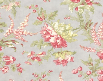 Whitewashed Cottage - Flourish in Pebble by 3 Sisters for Moda Fabrics