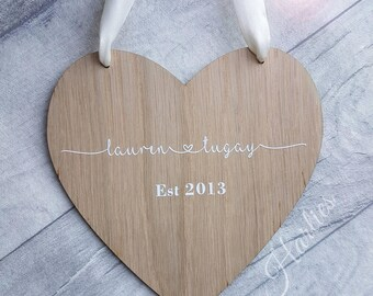 Perfect Simplistic Couple love Plaque