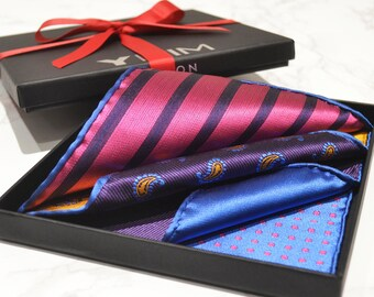 Luxury Versatile Men's Pocket Square
