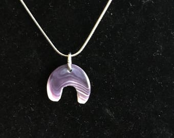 Wampum Pendant Necklace