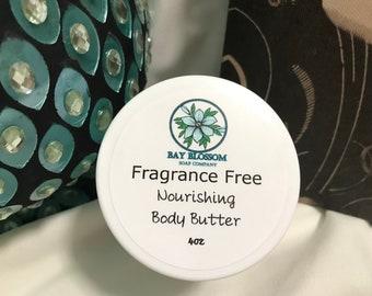 Natural Body Butter 4oz Jar