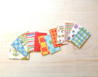 Party Favors: Notebooks, Stocking Stuffer, 12 Tiny Journals Set, Fun, Kids, Party Favors, Geometric, Journals, Jotters, Mini Journals, Small