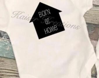 Born at Home Rip Snap Tee