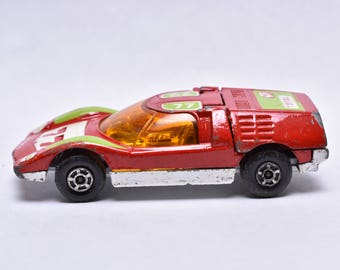 66 Mazda RX 500, 1971 Race Car, Made In England, Original Vintage Die Cast  Toy Car Collection