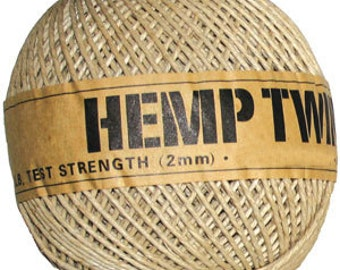 wholesale hemp twine cord 265ft 2mm