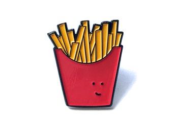 Fries Enamel pin // Lapel Pin