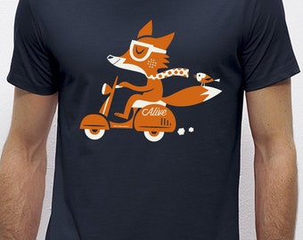 FOXY SCOOTER T-Shirt Boys