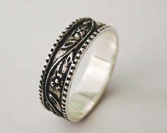 flower thumb ring, silver thumb ring, women thumb ring, thumb rings, thumb ring silver, thumb, thumb jewelry, thumb ring women, men ring