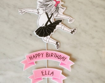 Eloise at the Plaza Cake Topper