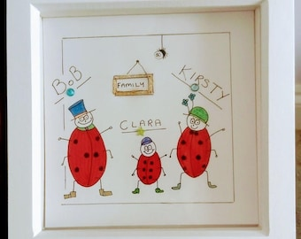 Personalized Ladybird picture