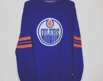 Vintage Edmonton Oilers Knit Sweater