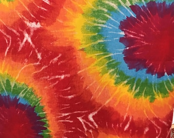 Tie Dye 100% Cotton Woven Fabric, 53/54 Inches wide