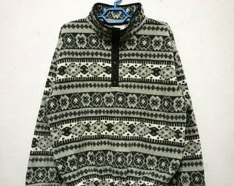 Rare LL BEAN Outdoor Camping Sweater Sweatshirt