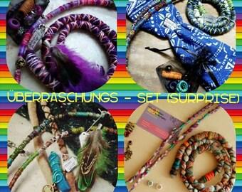 Dreadschmuck surprise set, Dreadwrap, Dreadperlen, Dreadspirale, Spiralock and much more