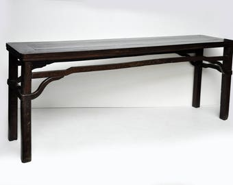 Antique Semi Hardwood Ming Style Scholar Table