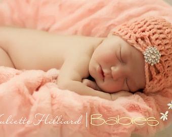 hat CROCHET PATTERN -jewel flapper hat- Crochet patterns, crochet hat