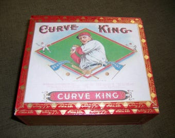 Curve King Cigar Box Baseball Stadium