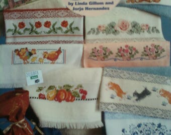 Cross Stitch Towels Etc. Instruction Booklet