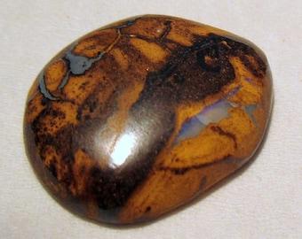 Undrilled - ref202 - boulder Opal