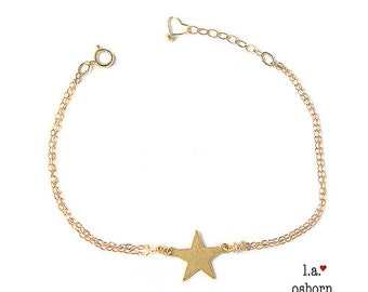 Star Bracelet, Dainty Bracelet, Layering Bracelet, Delicate Charm Bracelet, Friendship Bracelet, Gift For Her