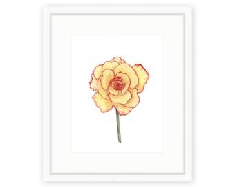Begonia Print