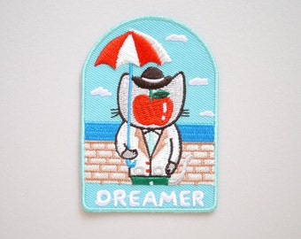 Dreamer - surrealism - René Magritte Iron On Patch