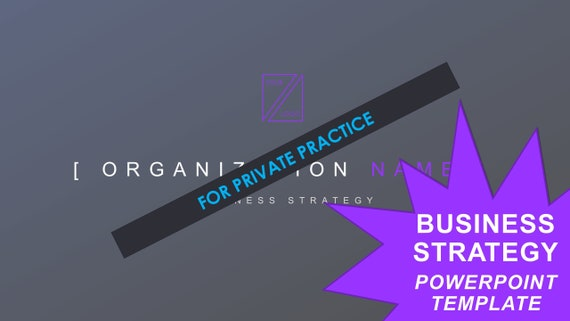 Business Strategy Template - Private Practice