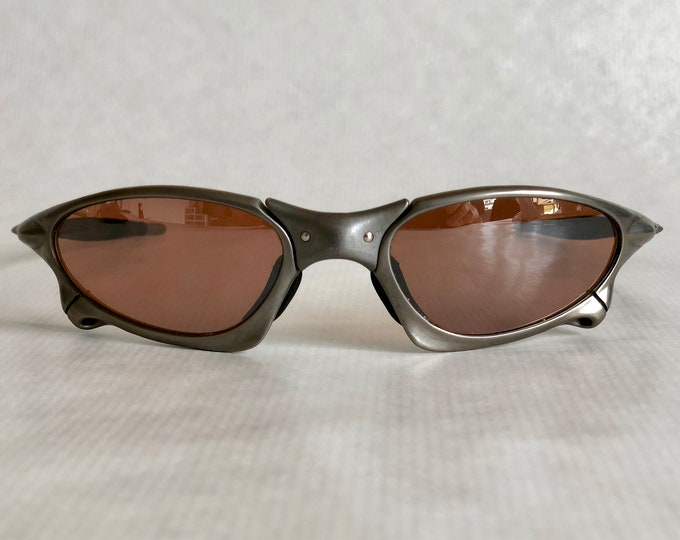 Oakley X Metal Penny Titanium Vintage Sunglasses New Old Stock including Softpouch