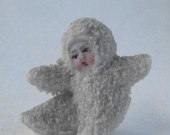 Bisque porcelain Snow Baby