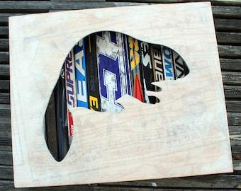 "Unsung: 22 x 18"" Canadian Beaver Shadow Box"