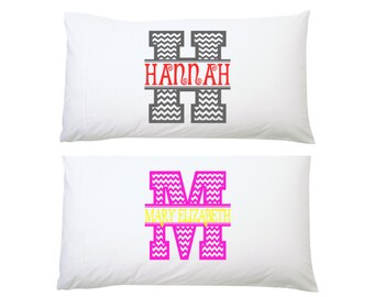Personalized Pillowcase|Monogram Pillowcase|Initial Pillowcase