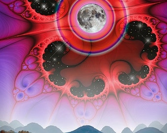 Full Moon Master - 36 x 24in limited-edition archival print