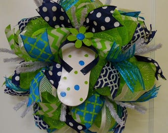 Summer Flip-Flop Wreath