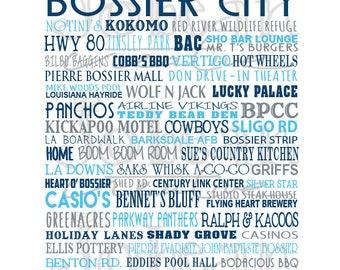 Bossier Words