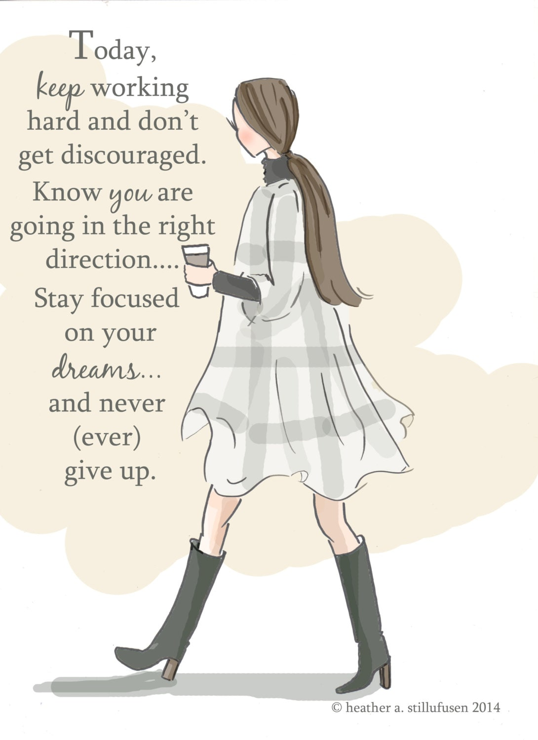 Quotes About Hard Working Woman Awesome Keep Working Hard Autumn Art For Women Quotes For Women