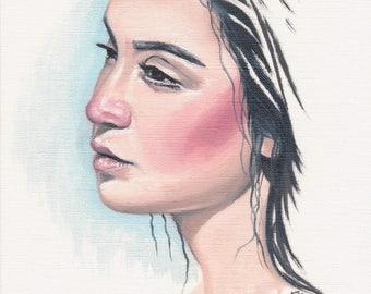 Stare- Original painting