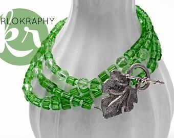 Wrap chain ~ 2 x ~ vine leaves