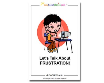 Let's Talk About Frustration - Easy Social Story for Autism