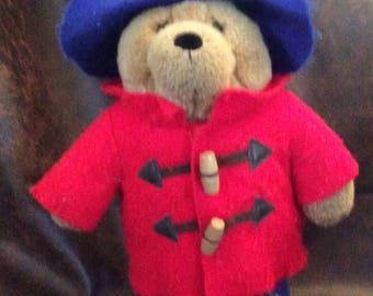 "Vintage - 14"" Paddington Bear Plush - 2004 - VGC"