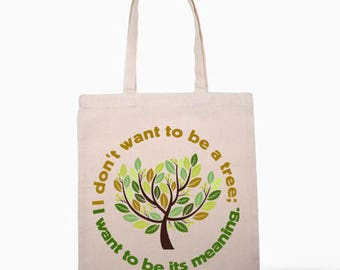 Inspired By Orhan Pamuk  Quote Tote Bag Design
