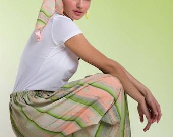 long Gypsy skirt pattern