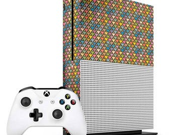 Colourful Triangles Xbox One S Skin