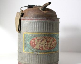 Polo Winfield Galvanized Kerosene/Oil Can