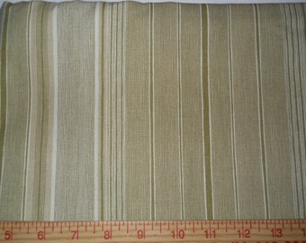 "Home decor fabric new 1 yard x 72"" wide stripes"