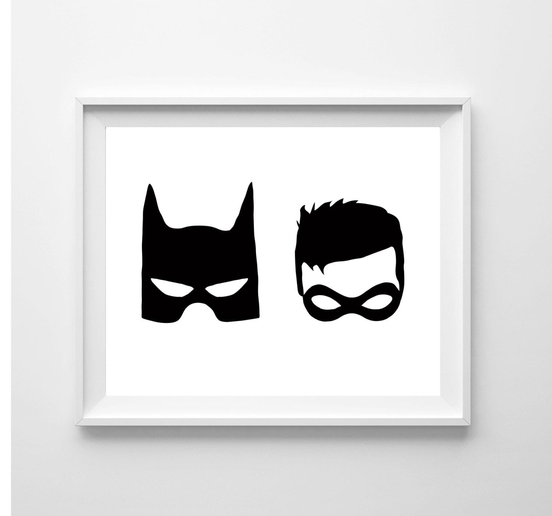 Batman and robin illustration batman and robin superhero zoom pronofoot35fo Gallery
