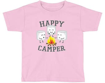 Kids / Toddlers Happy Camper Marshmallows T-Shirt